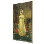 Portrait of Marie-Therese-Charlotte de France Gallery Wrapped Canvas