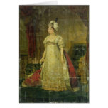 Portrait of Marie-Therese-Charlotte de France Greeting Card