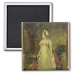 Portrait of Marie-Therese-Charlotte de France Refrigerator Magnet