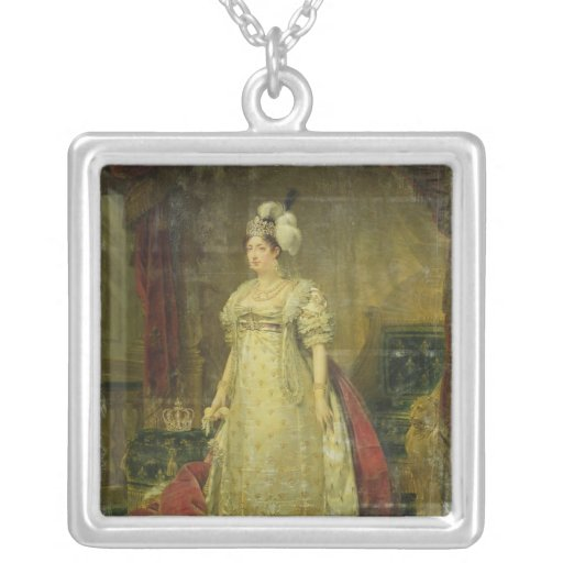 Portrait of Marie-Therese-Charlotte de France Custom Jewelry