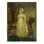 Portrait of Marie-Therese-Charlotte de France Postcard