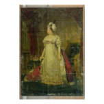 Portrait of Marie-Therese-Charlotte de France Posters