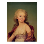 Portrait of Marie-Therese Charlotte of France Postcard