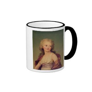 Portrait of Marie-Therese Charlotte of France Ringer Mug