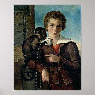 Portrait of Marius Petipa in Ballet Poster