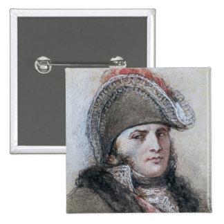 Portrait of Marshal Davout, Prince d'Echmuhl Pinback Buttons
