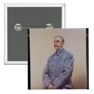 Portrait of Marshal Ferdinand Foch  1920 Button