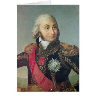 Portrait of Marshal Jean-Baptiste Jourdan Card