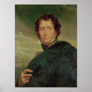 Portrait of Marshal Jean de Dieu Nicolas Soult Poster
