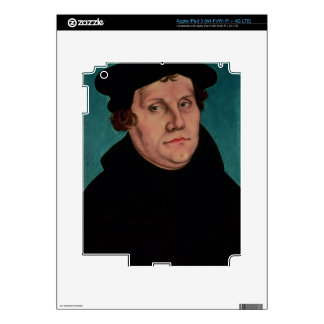 Portrait of Martin Luther, 1529 iPad 3 Skin
