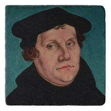 Portrait of Martin Luther, 1529 Trivet