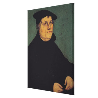 Portrait of Martin Luther  1543 Canvas Print