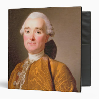 Portrait of Martin-Pierre Foache (oil on canvas) 3 Ring Binders