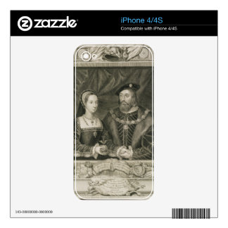Portrait of Mary (1496-1533) Queen of France, and Decals For The iPhone 4S