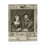 Portrait of Mary (1496-1533) Queen of France, and Postcard