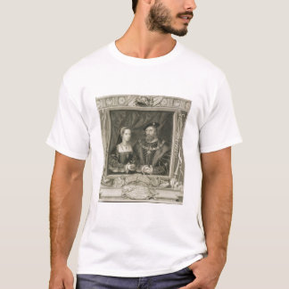 Portrait of Mary (1496-1533) Queen of France, and T-Shirt