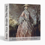Portrait Of Mary Countess Howe By Thomas Gainsboro Binder