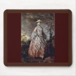 Portrait Of Mary Countess Howe By Thomas Gainsboro Mouse Pad