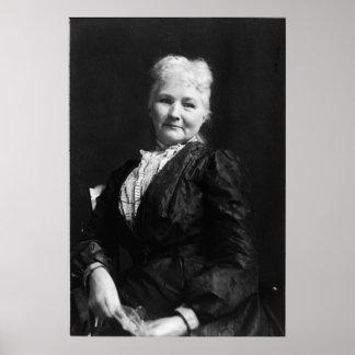 "Portrait of Mary ""Mother"" Jones Print"