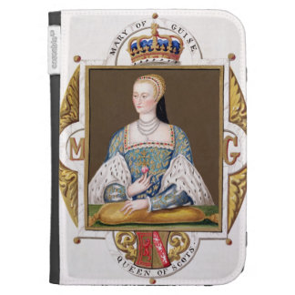 Portrait of Mary of Guise (1515-60) Queen of Scotl Kindle 3G Covers