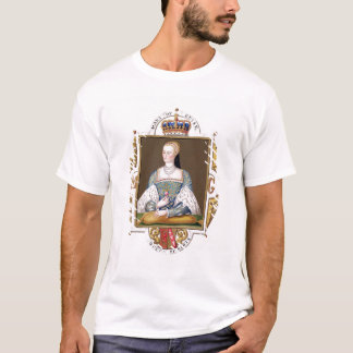 Portrait of Mary of Guise (1515-60) Queen of Scotl T-Shirt