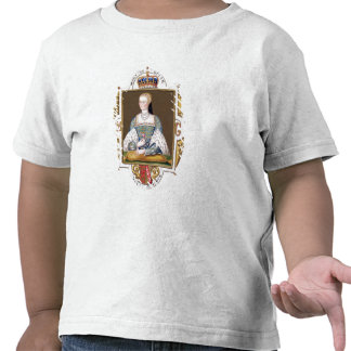 Portrait of Mary of Guise (1515-60) Queen of Scotl Tee Shirt