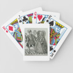 Portrait of Mary, Queen of Scots (1542-87) and Hen Bicycle Playing Cards