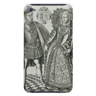 Portrait of Mary, Queen of Scots (1542-87) and Hen iPod Case-Mate Case