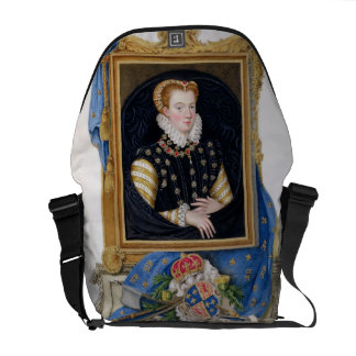 Portrait of Mary Queen of Scots 1542-87 from Me Courier Bag