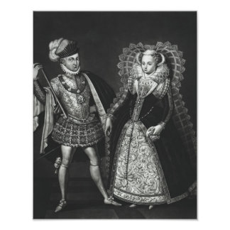 Portrait of Mary Queen of Scots Poster