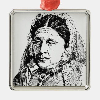Portrait of Mary Seacole Metal Ornament
