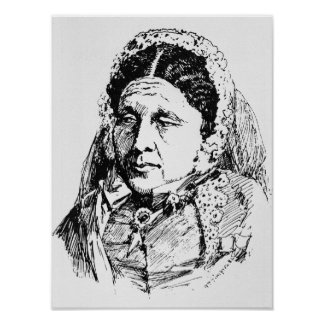 Portrait of Mary Seacole Poster