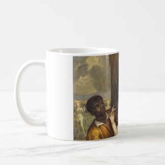 Portrait of Mary Stuart with a Servant Coffee Mug