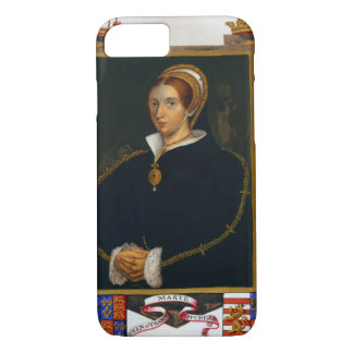 Portrait of Mary Tudor, from 'Memoirs of the Court iPhone 8/7 Case