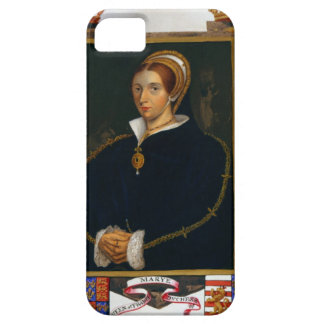 Portrait of Mary Tudor, from 'Memoirs of the Court iPhone SE/5/5s Case