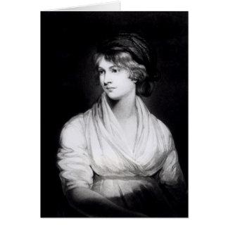 Portrait of Mary Wollstonecraft Godwin Card