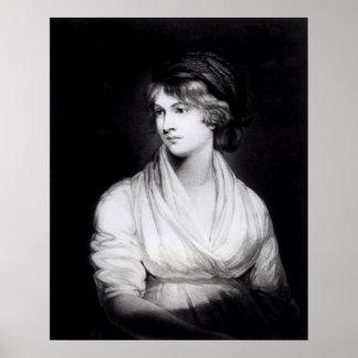 Portrait of Mary Wollstonecraft Godwin Poster