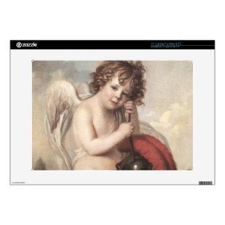 "Portrait of Master Oswald Fawcett as Cupid (oil on 15"" Laptop Skin"