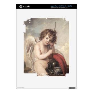 Portrait of Master Oswald Fawcett as Cupid (oil on iPad 3 Skin