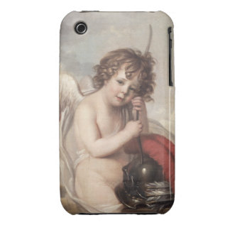 Portrait of Master Oswald Fawcett as Cupid (oil on iPhone 3 Case-Mate Case