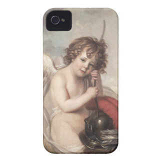 Portrait of Master Oswald Fawcett as Cupid (oil on iPhone 4 Cases
