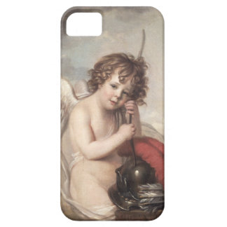 Portrait of Master Oswald Fawcett as Cupid (oil on iPhone 5 Case