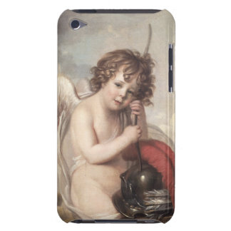 Portrait of Master Oswald Fawcett as Cupid (oil on iPod Touch Cover