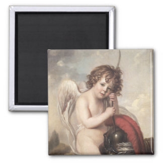 Portrait of Master Oswald Fawcett as Cupid (oil on Magnet