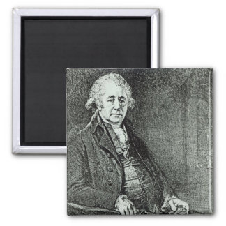 Portrait of Matthew Boulton Refrigerator Magnet