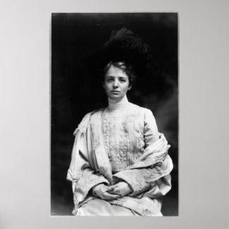 Portrait of Maude Adams Poster