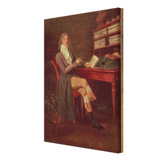 Portrait of Maurice de Talleyrand Canvas Print