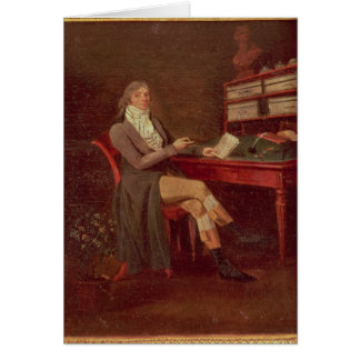 Portrait of Maurice de Talleyrand Greeting Card