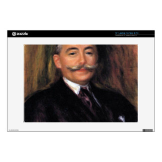 "Portrait of Maurice Gangnat by Pierre Renoir Decal For 13"" Laptop"