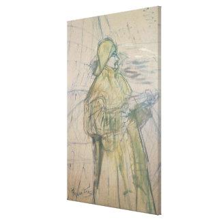 Portrait of Maurice Joyant  1900 Canvas Print